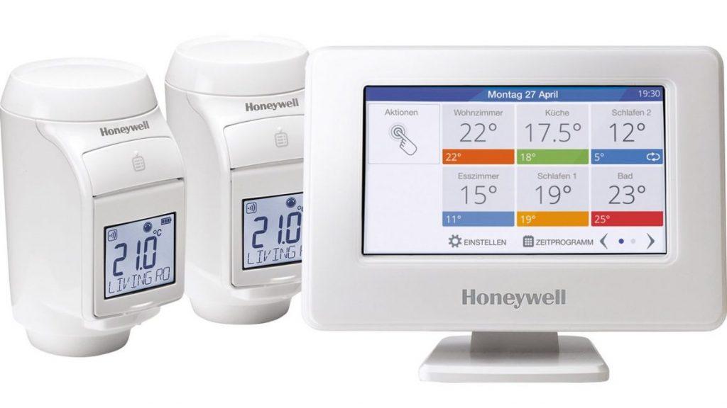 Honeywell Evohome központi egység radiátoros szelepekkel